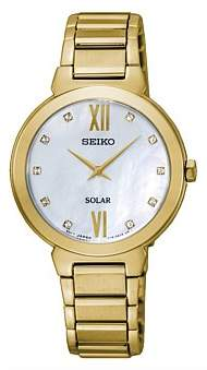 Seiko Solar Crystal Set Dress Watch