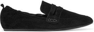 Lanvin - Suede Slippers - Black $570 thestylecure.com