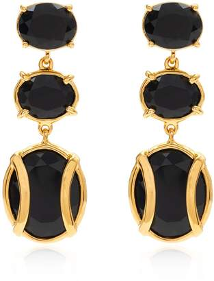 Alexandra Alberta - Lexington Black Onyx Earring