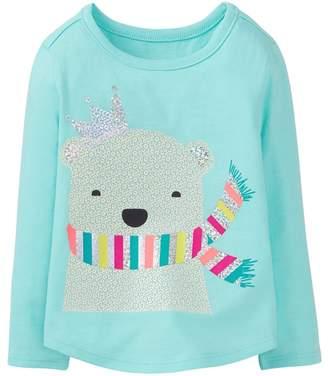 Crazy 8 Sparkle Polar Bear Tee