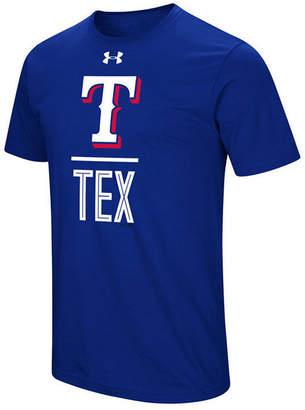 Under Armour Men's Texas Rangers Performance Slash T-Shirt