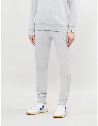 True Religion Reflective logo cotton-blend jogging bottoms