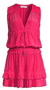 Ramy Brook Women's Hadley Ruffled Blouson Dress