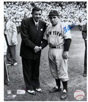 Steiner Sports Framed Yogi Berra & Babe Ruth Signed Photo