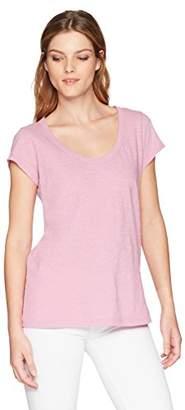 Velvet by Graham & Spencer Women's Kira Short Sleeve Scoop Neck Tee Shirt