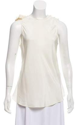 Giorgio Armani Silk Sleeveless Blouse
