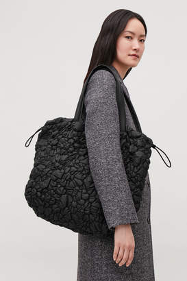 Cos GATHERED PADDED TOTE BAG