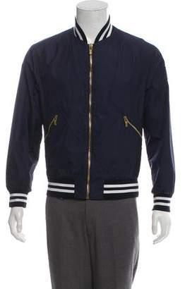 Moncler Gamme Bleu Lightweight Bomber Jacket