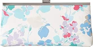 Calvin Klein Saffiano Floral Printed Clutch