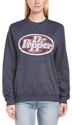 Dr. μ Dr. Pepper Women's 33.04 Crew Neck Long Sleeve Sweatshirt,(Manufacturer Size:XX-Large)
