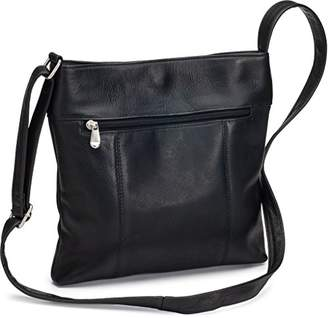 Le Donne Leather Unisex Adult Derosa Cross-Body Bag