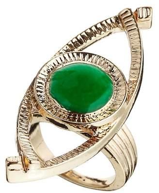 Asos Design Rose Eye Ring