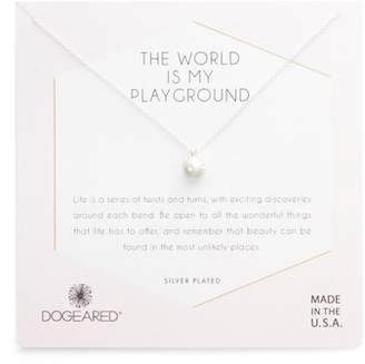 Dogeared World Is My Playground Pendant Necklace