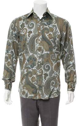Etro Paisley Printed Button-Up Shirt