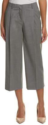 Lafayette 148 New York Rivington Wool-Blend Crop Pant