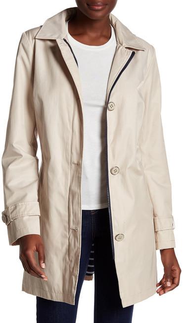Tommy HilfigerTommy Hilfiger Button Detail Zip Front Jacket