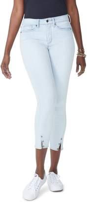 NYDJ Ami High Waist Twist Seam Stretch Ankle Skinny Jeans