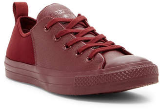Converse Chuck Taylor All Star Abbey Monochromatic Leather Ox Low Top Sneakers (Women)