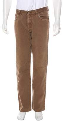 Dolce & Gabbana Five-Pocket Straight-Leg Jeans