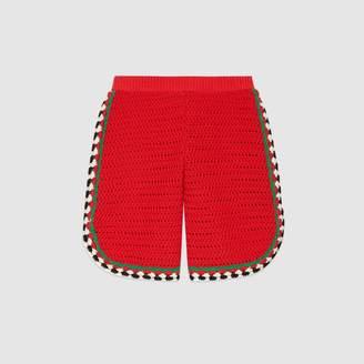 Gucci Children's crochet shorts