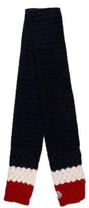 Moncler Wool Stripe Scarf