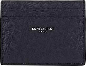 Saint Laurent Men's Card Case - Navy
