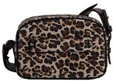 AllSaints Leopard-Printed Leather Bumbag