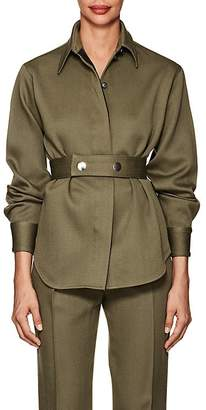 Victoria Beckham Women's Wool Twill Shirt Jacket