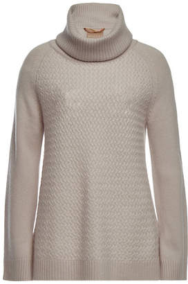 81 Hours Hattie Turtleneck Pullover in Superfine Wool and Cashmere