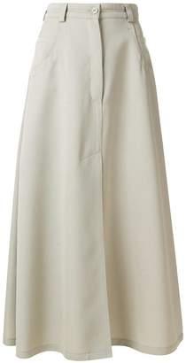 Nina Ricci A-line maxi skirt