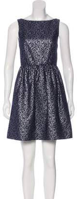 Alice + Olivia Jacquard A-Line Dress