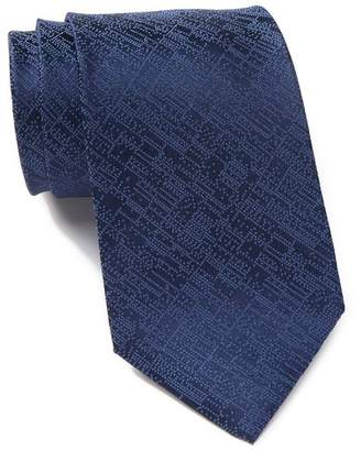 Calvin Klein Digital Allover Silk Tie