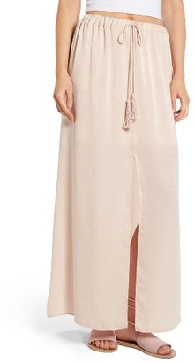 Women's Sun & Shadow Maxi Skirt $55 thestylecure.com