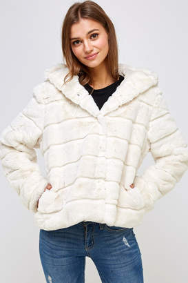 En Creme Winter White Jacket