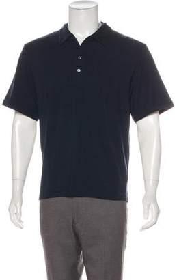 Armani Collezioni Knit Polo Shirt