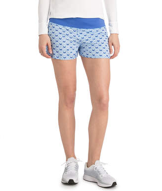 Vineyard Vines Painted Whale Tail Performance Shorts