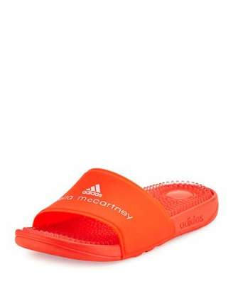 adidas by Stella McCartney Recovery Molded Slide Sandal, Coral Red $60 thestylecure.com