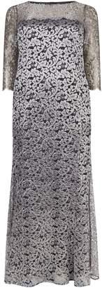Marina Rinaldi Lace Overlay Gown