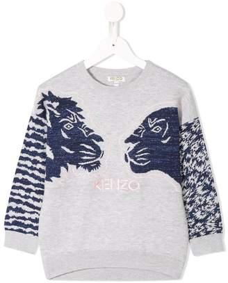 Kenzo Jungle knitted sweater