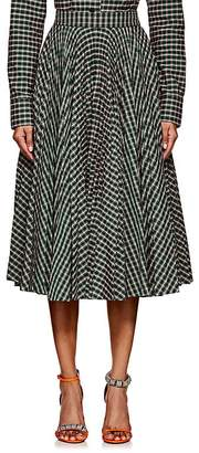 Calvin Klein Women's Checked Full Skirt