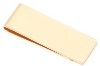 The Row Engraved Money Clip - Mens - Gold