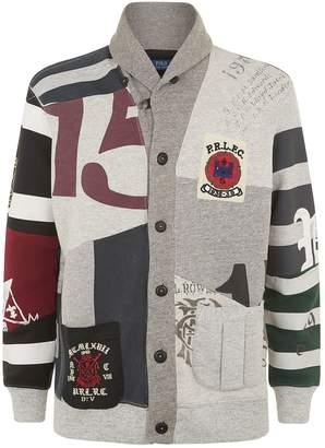 Polo Ralph Lauren Patchwork Fleece Cardigan