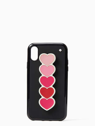Kate Spade ombre heart iphone x & xs stand case