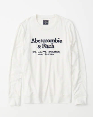 Abercrombie & Fitch Long-Sleeve Heavyweight Graphic Tee