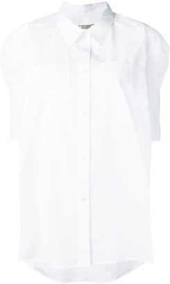 Nina Ricci high low hem shirt