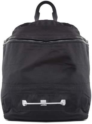 Rick Owens Leather-trimmed Nylon Backpack Drkshdw