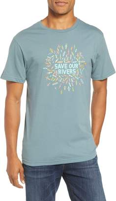Patagonia Save Our Rivers Organic Cotton Graphic T-Shirt