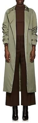 The Row Women's Naita Water-Repellant Tech-Twill Trench Coat