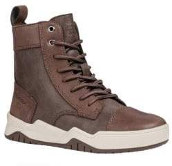 Geox Boy's Perth Combat Boots