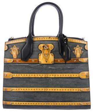 Louis Vuitton 2018 Time Trunk City Steamer MM